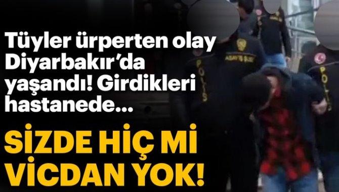 Diyarbakır'da hastaneden kanser ilacı çalanlar yakalandı