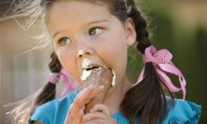 Çocuklar için dondurma gerekli