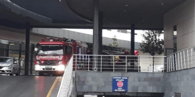 İstanbul'da özel hastanede su baskını