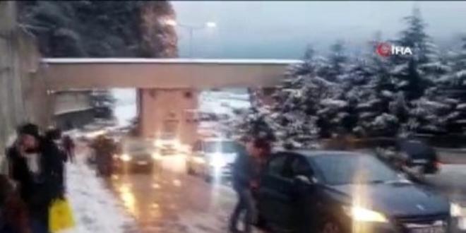 BEÜ Tıp Fakültesi Hastanesinde kar engeli, hastalar ve personel zor anlar yaşadı