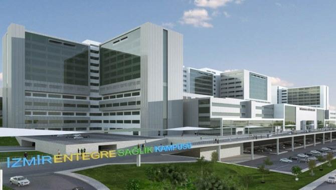 İzmir Bayraklı Şehir Hastanesi'nin yüzde 90'ı bitti