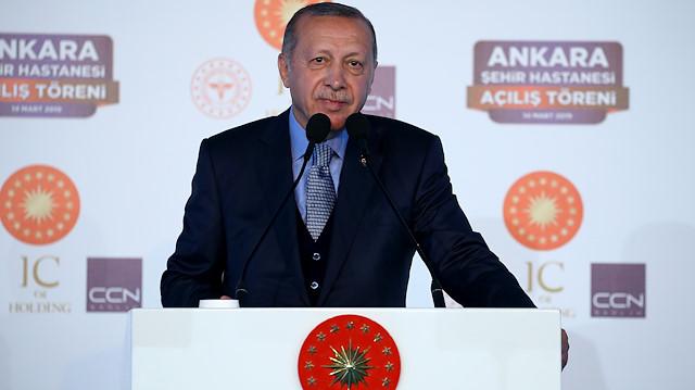 Ankara Bilkent Şehir Hastanesi'nin açılışını Cumhurbaşkanı Erdoğan yaptı