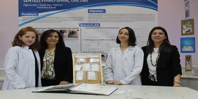 Lise öğrencilerinden kanser hücrelerini etkisiz hale getirecek proje