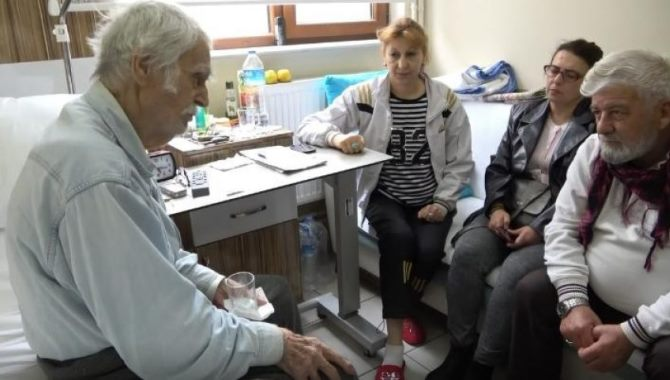 Oğlunun acısını unutamayan Eşref Kolçak, 3 aydır Bursa'da tedavi görüyor