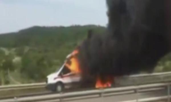 3 aylık bebek ambulansta yanarak hayatını kaybetti