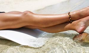 Sağlıklı ve bakımlı bacaklar