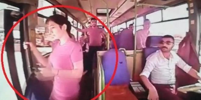 18 yaşındaki kızın otobüste akılalmaz ölümü