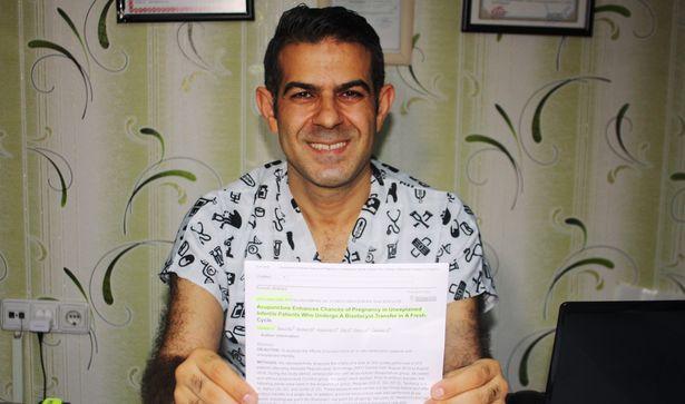 Türk hekimin tüp bebek tedavisinde akunpunktur kullandığı çalışma Çin'de yayımlandı