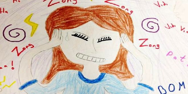 Okul öncesi çocuklar hastalıklarını resim çizerek anlattı