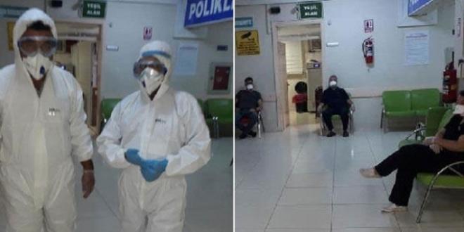 Hastanede panik! Karantinaya alındı