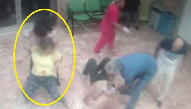 Hastanede kızını ve eski eşini bıçakla yaraladı! Hiç kimse müdahale etmedi