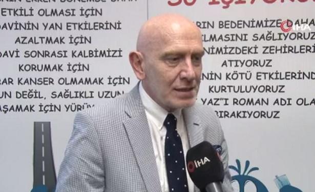 Prof. Dr. Muhit Özcan: 'Lenfomada immünoterapi ile tedavi başarı artıyor'
