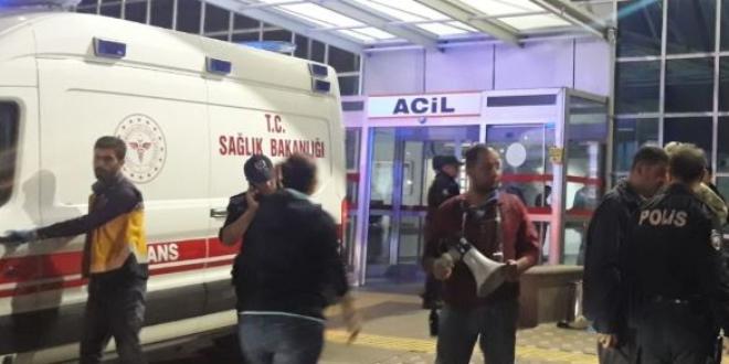 Tokat'ta hastane bahçesinde silahlı kavga: 1 ölü