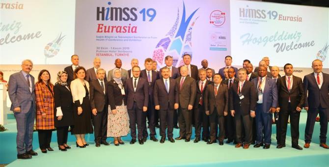 HIMSS'19 Eurasia İstanbul'da düzenlendi