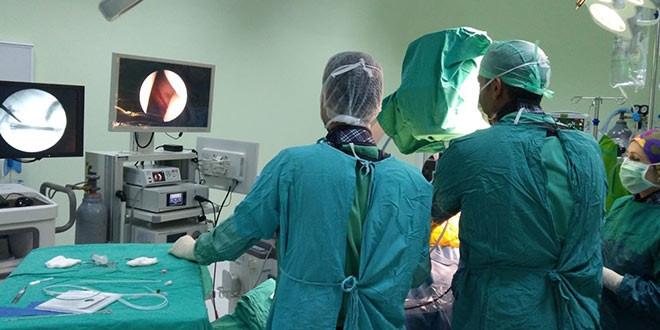 Hastanede cerrahi el aletleri atölyesiyle 1 milyon liralık tasarruf