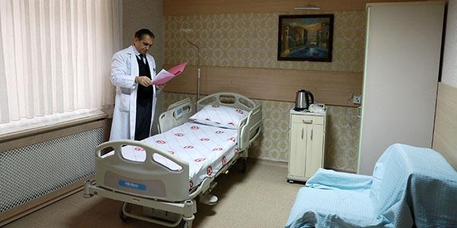 Sağlık Bakanlığı paylaştı: Bu odalarda kalacaklar