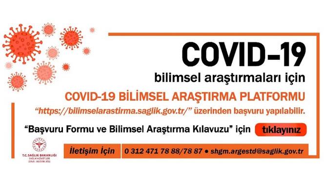 COVID-19 Konusunda Bilimsel Araştırma Çalışmaları hakkında duyuru