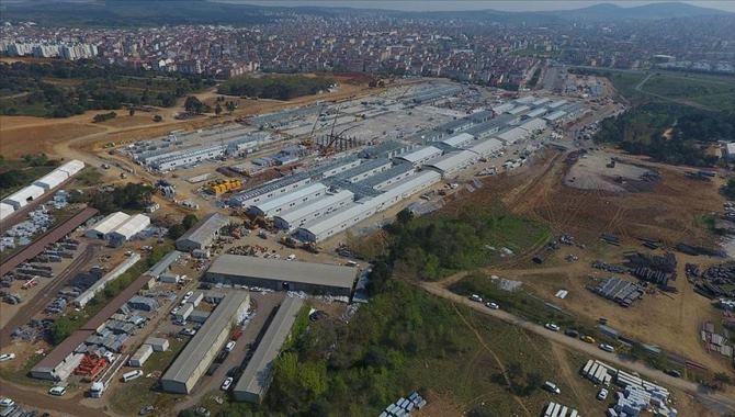 Sancaktepe'deki hastane inşaatında hummalı çalışmalar devam ediyor