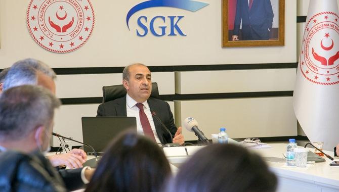 SGK Başkanı Yılmaz, Yapılandırma Kanununa ilişkin açıklamalarda bulundu