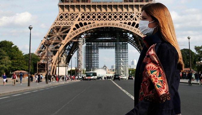 Fransa'da son 24 saatte 2 bin 204 Kovid-19 vakası görüldü