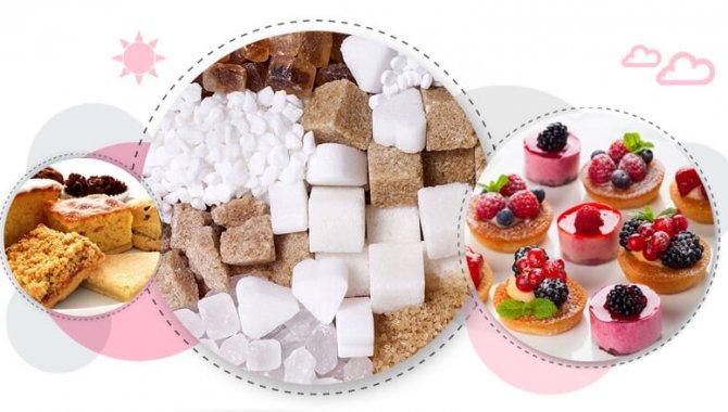 Her bir gram şekerin enerji değeri 4 kalori