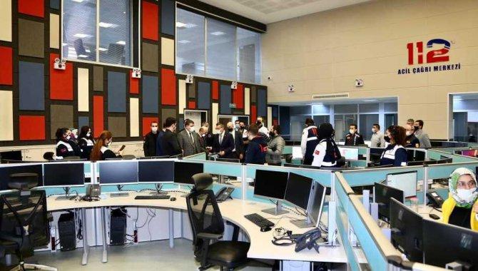 Rize'de, 112 Acil Çağrı Merkezi hizmete giriyor