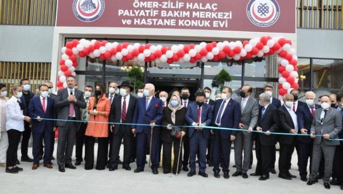 AFSÜ Palyatif Bakım ve Rehabilitasyon Merkezi ile Konukevi'nin açılışı gerçekleştirildi