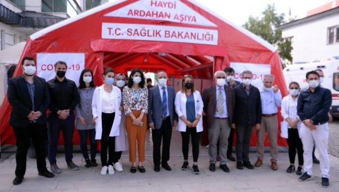 """Ardahan'da, """"Haydi Ardahan aşıya"""" kampanyası sürüyor"""