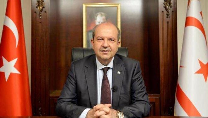 """KKTC Cumhurbaşkanı Tatar'dan Türkiye'ye yerli aşı """"TURKOVAC"""" tebriği"""