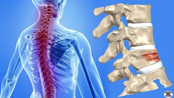 Salgın döneminde omurga kırıkları artış gösterdi