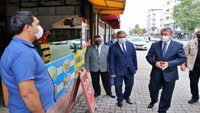 """Vaka sayısı en az olan Osmaniye'de, Vali Yılmaz'dan """"kuralları gevşetmeyin"""" uyarısı:"""
