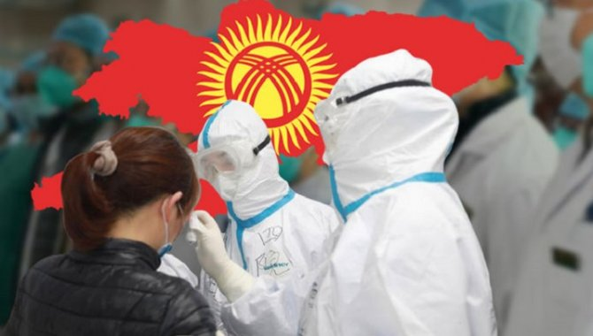 """Kırgızistan'da Kovid-19 kaynaklı yeni dalgaya karşı """"bireysel sorumluluk"""" uyarısı"""