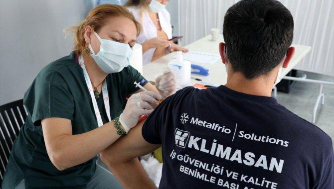 """Antalya OSB'den """"kapanma"""" riskine karşı aşılanma çağrısı"""