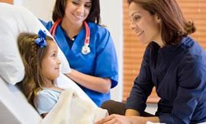 Onkoloji hastası çocuklar için ayakta tedavi ünitesi