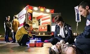 Paramediklere Güvenli sürüş eğitimi