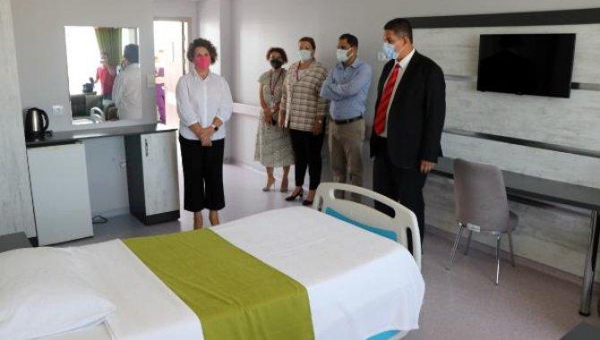 """Edirne Sultan 1. Murat Devlet Hastanesinde """"Uluslararası Hasta Ünitesi"""" açıldı"""