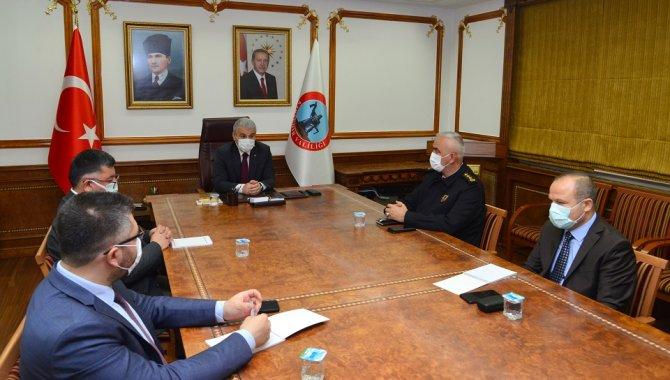 Kırşehir'de koronavirüsle mücadele değerlendirme toplantısı yapıldı