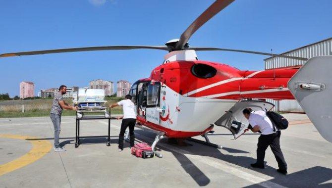 Hava ambulansı Kovid-19 döneminde iki kat fazla havalandı