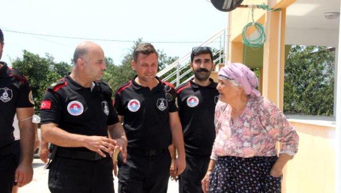 İstanbul'daki belediyelerin yangın bölgesine destekleri sürüyor
