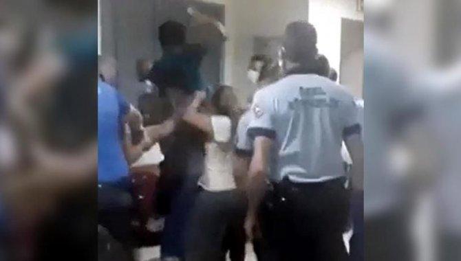 Burdur'da sağlık çalışanlarını darbettiği öne sürülen 4 şüpheli gözaltına alındı