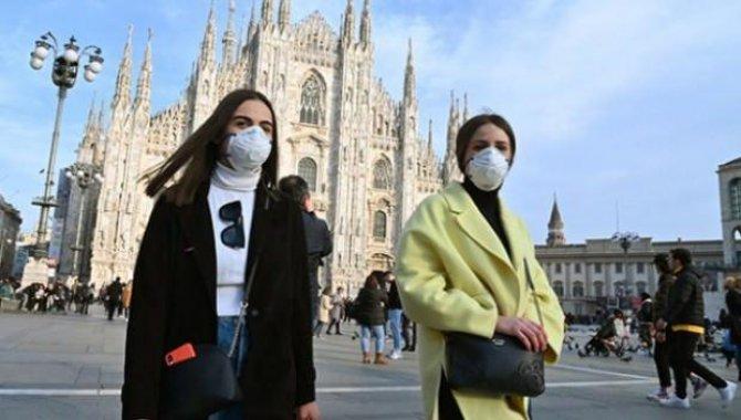 İtalya'da son 24 saatte 4 bin 578 Kovid-19 vakası tespit edildi