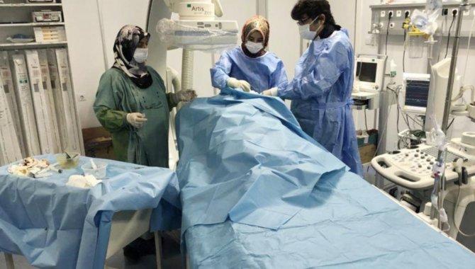 Kırşehir'de hemodiyaliz hastalarına kalıcı katater takılmaya başlandı