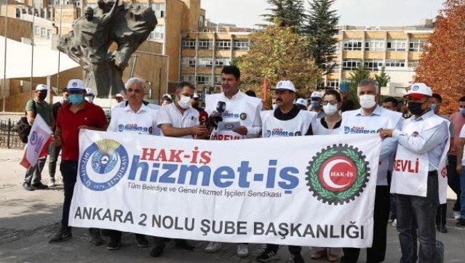 Hizmet-İş Sendikası, Hacettepe Üniversitesi hastanelerinde çalışanların geriye dönük haklarını talep etti