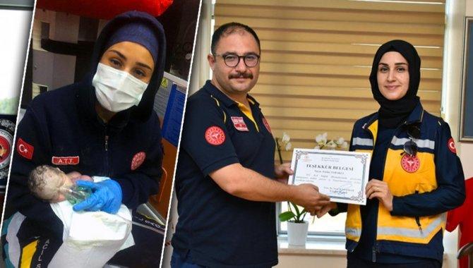 Burdur'da ambulansta doğduktan sonra kalbi duran bebek sağlık ekibinin müdahalesiyle yaşama tutundu