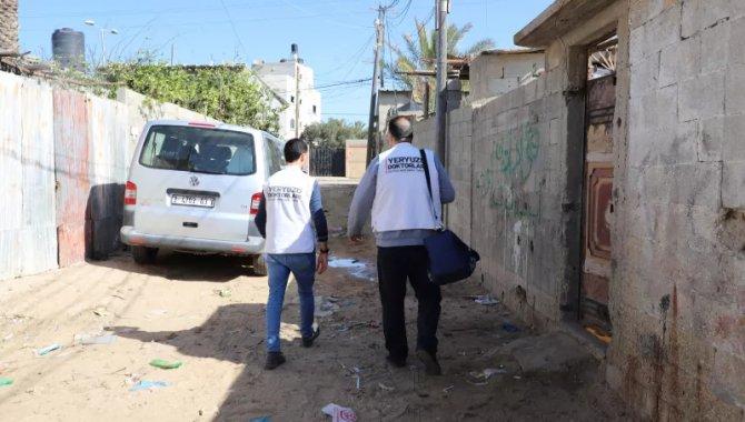 Yeryüzü Doktorları Gazze'de tıbbi destek sunmaya devam ediyor