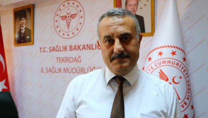 Tekirdağ Sağlık Müdürü Ali Cengiz Kalkan aşı olmayan gençlere çağrıda bulundu: