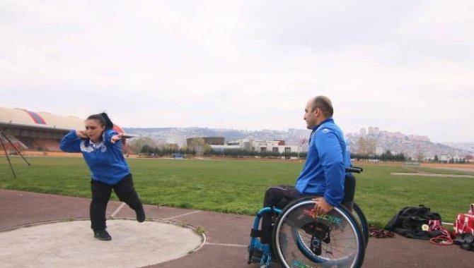 """Kocaeli'de engelli bireyler """"Ben de Varım"""" projesiyle spor yapacak"""