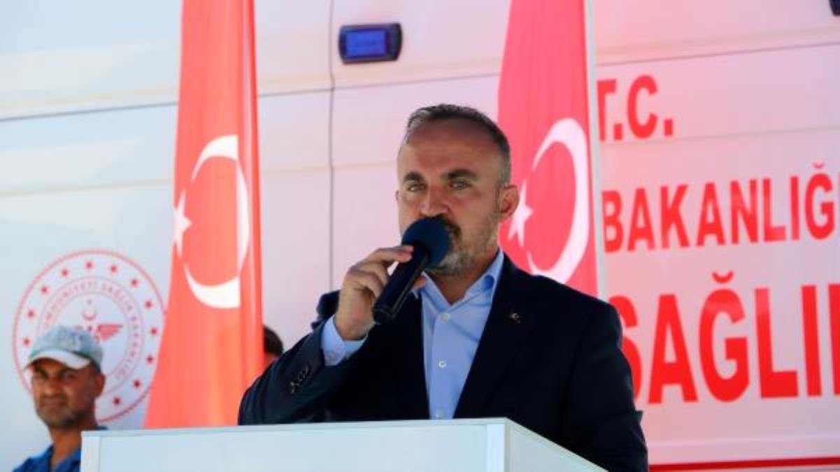AK Parti'li Bülent Turan, Gelibolu Toplum Sağlığı Merkezi'nin açılışında konuştu: