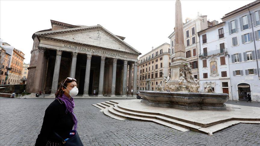 İtalya'da Kovid-19'dan son 24 saatte 66 kişi öldü