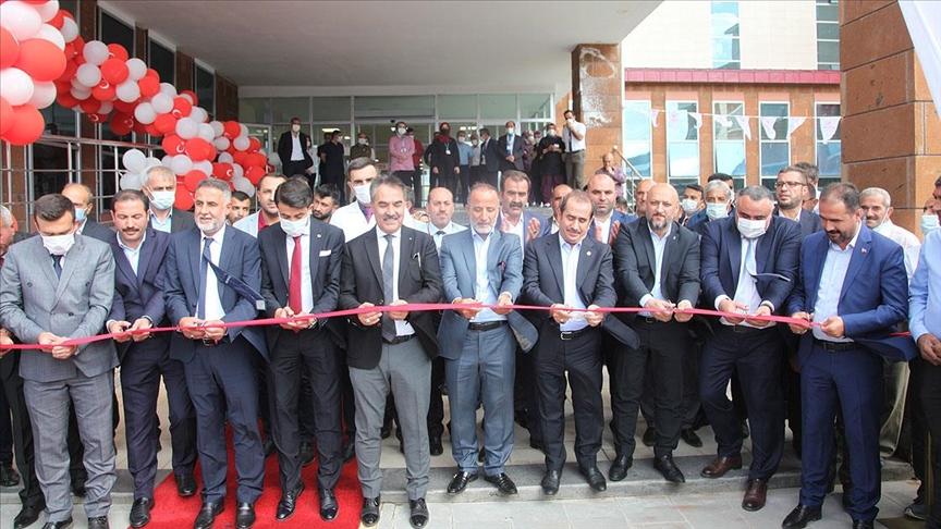 Bitlis'te 100 yataklı devlet hastanesi hizmete açıldı
